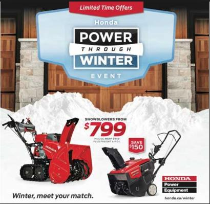 HONDA Power Equipment ...........    CLICK HERE